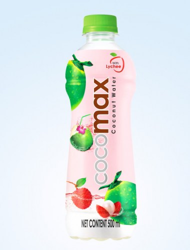 Cocomax Coconut Water (Lychee) 500ml